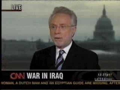 What's Next For Iraq? Larry Korb on CNN's Late Edition Pt 1