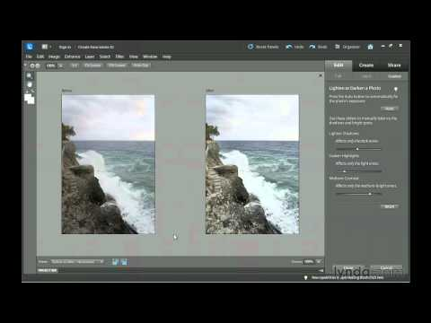 Photoshop Elements 10: Guided Edit workspace | lynda.com tutorial