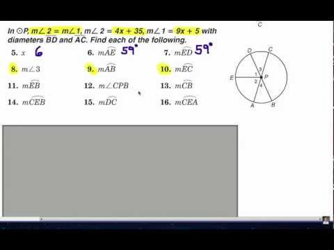 Viewer Challenge: Central Angles of a Circle 2