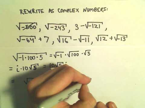 Rewriting Radicals using Complex Numbers