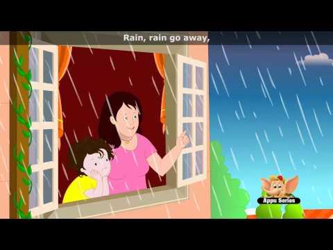 Rain, Rain, Go away - Nursery Rhyme with Lyrics