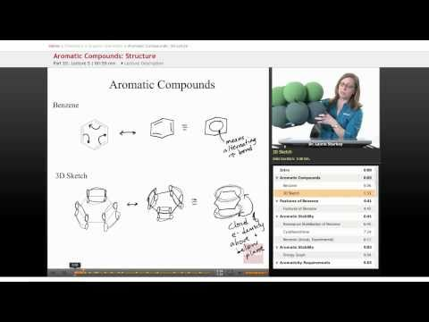 Organic Chemistry: Aromatic Compounds (Sketching)