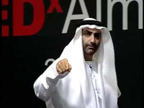 TEDxAjman - Sheikh Dr. Abdulaziz Ali Al Nuaimi - Emirates Falcons