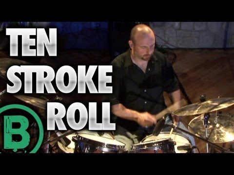 ‪Ten Stroke Roll - Drum Rudiment Lesson‬s