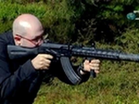 Silenced AK-47 Test   Sons of Guns