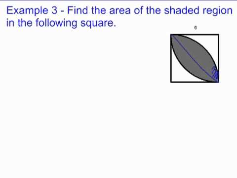 Shaded Area Problems