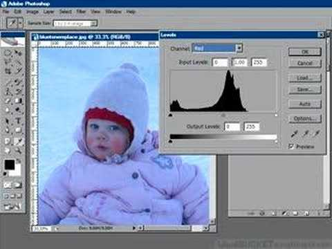 Photoshop retouching: Easy color correction with Levels