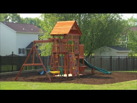 Outdoor Playset Installation and Safety Tips