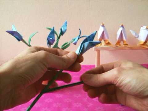 Origami Birds of Paradise