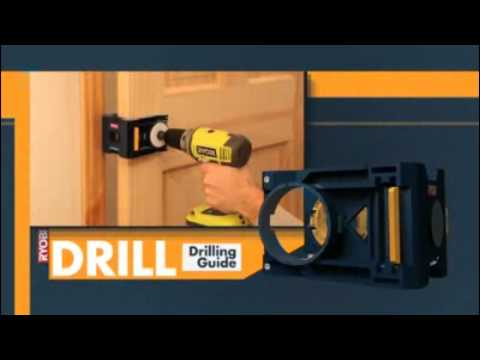 Ryobi Metal/Wood Door Lock Installation Kit