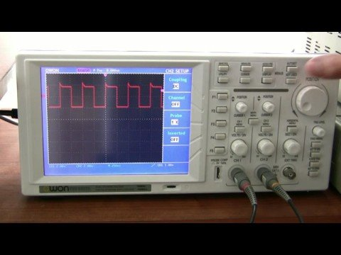 Oscilloscope Tutorial Part 3 - Advanced functions