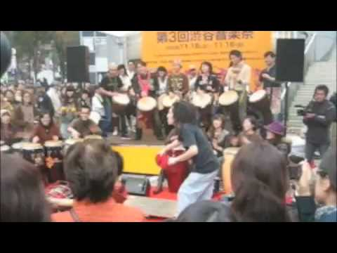 Studio 360 in Japan: Shibuya Street Festival Drumming