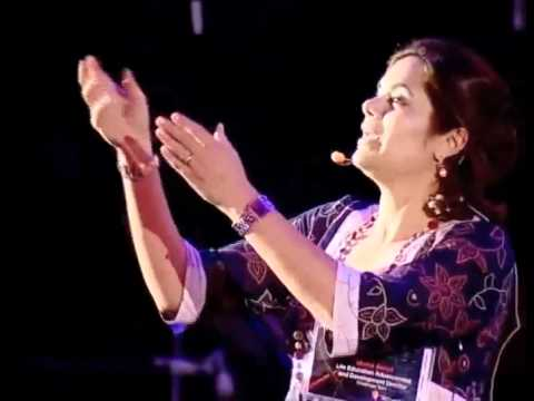 TEDxDeadSea - Muna Awad - The Language of Creativity begins at Home