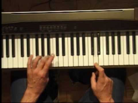 Piano Lesson - How to Play the D major scale (left hand)