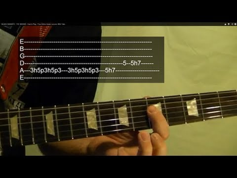 THE WIZARD ( Guitar Lesson ) by BLACK SABBATH With Tabs