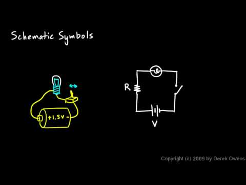 Physics 12.5.3a - Schematic Symbols