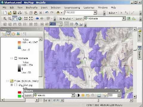 Raster Calculator Demonstration in ArcGIS for Desktop