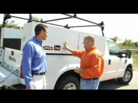 Truck Wrks Slide In Service Body