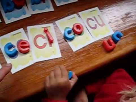 Toddler - Reading. Blends