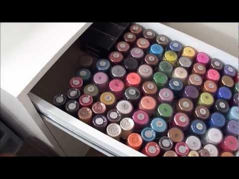 UPDATED Makeup Collection, Organization & Storage