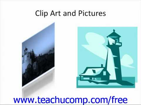 PowerPoint 2010 Tutorial Running a Slide Show Microsoft Training Lesson 7.1