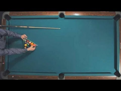 Pool Trick Shots / Fundamentals: Rack and Break