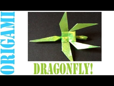 Origami Daily - 325: Dragonfly - TCGames [HD]