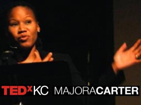 TEDxKC - Majora Carter - 8/20/09