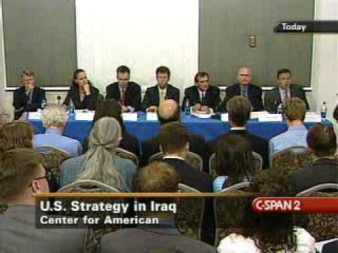 Strategic Reset: US Senate Briefing on Iraq Policy Part 2