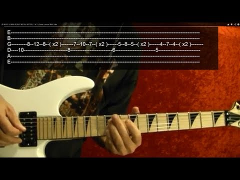 SPEED!!! Guitar Lesson Video #4