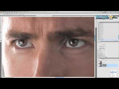 Photoshop Tutorial -  Glowing Eyes