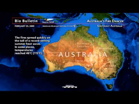 Science Bulletins: Australia's Fire Danger
