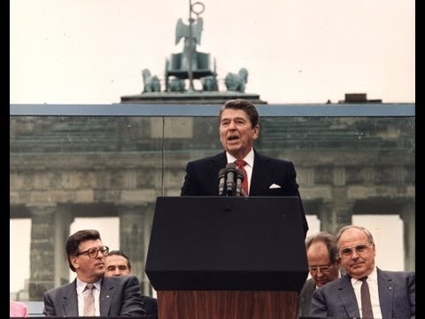 President Reagan's Berlin Wall Speech - June 12, 1987