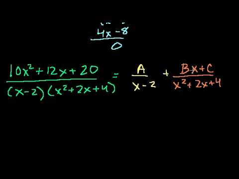 Partial Fraction Expansion 2