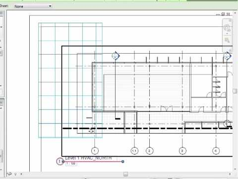 Revit MEP 2012 Tutorial - Documentation Guide: Grids