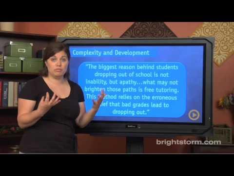 Writing: Examining ACT Essay Examples