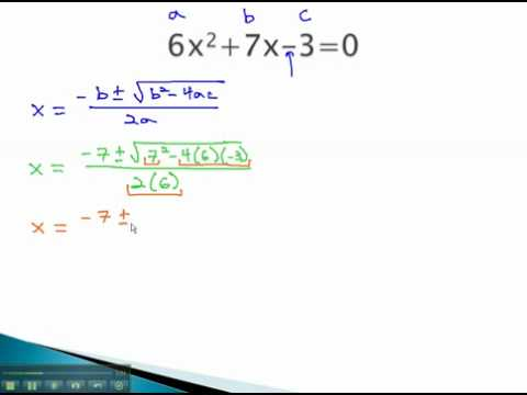 Quadratic Formula - Using the Formula - YouTube.mp4