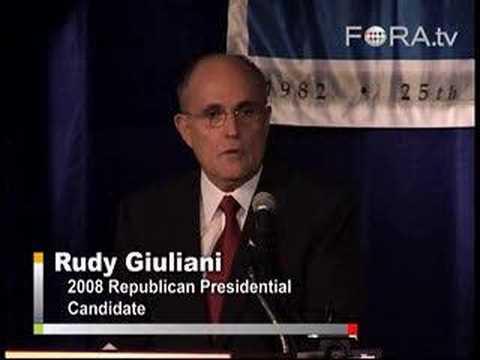 Rudy Giuliani - On Tax Policy