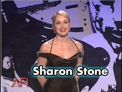 Sharon Stone Salutes Martin Scorsese at the AFI Life Achievement Award