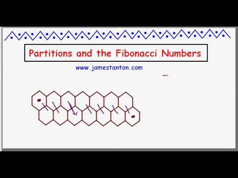 Partitions and the Fibonacci Numbers: A surprise! (TANTON Mathematics)