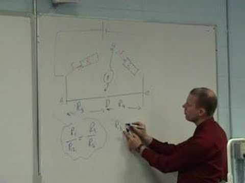 Theory of the Metre Bridge