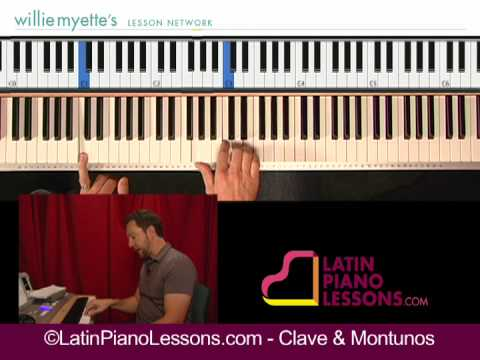 Salsa Piano Lessons - Clave & Montunos (sample 2)