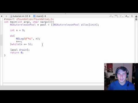 Objective C Programming Tutorial - 16 - do Statements