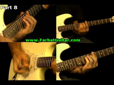 Sunday Bloody Sunday -U2 Guitar Cover Part 8  www.FarhatGuitar.com