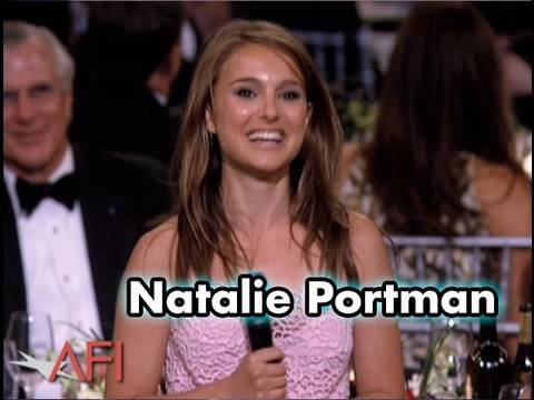 Natalie Portman Salutes Mike Nichols at the AFI Life Achievement Award