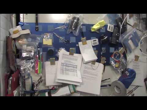 NASA ASTRONAUT LEADS TOUR OF SPACE STATION IN HD