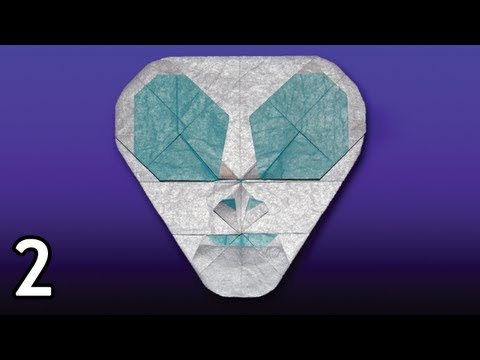 Origami Spaceman by Quentin Trollip (Folding Instructions) ~Part Two~