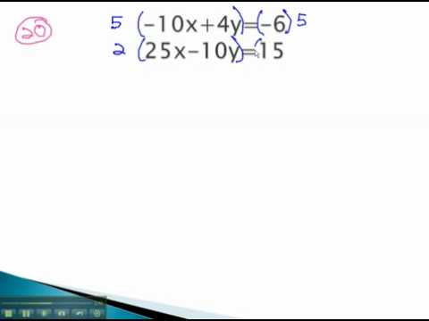 Systems of Equations - Special Cases with Addition - YouTube.mp4