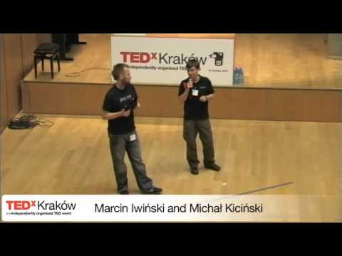 TEDxKrakow-Marcin Iwiński and Michał Kiciński-Think Different - it's still extremely up to date