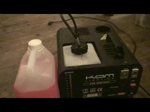 Smoke Machine, How to get it running for longer